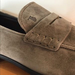 Tod's NEW Luxury Men's Suede LUXE Loafers